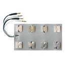 EiE™ 8 polių elektrodas E-8M su 4 kištukais (DT-7B, ID-4C, MT-3)