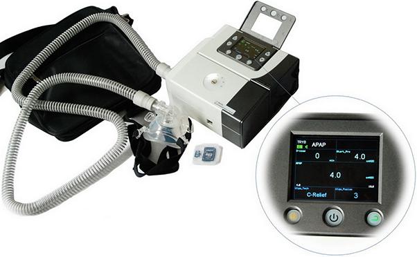 SysMed Auto CPAP 20 komplektas