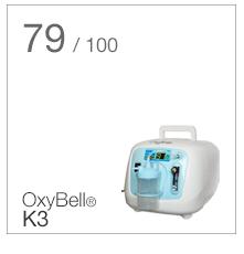 Oxybell K3 vertinimo rezultatai