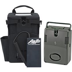 Freestyle 5 mobilaus deguonies aparato komplektas su papildomu pakrovėju baterijoms